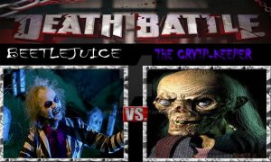 DEATH BATTLE: Beetlejuice Vs The Crypt-Keeper by ARTIST-SRF