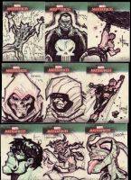 Marvel Masterpiece Cards set3c by BenHerrera