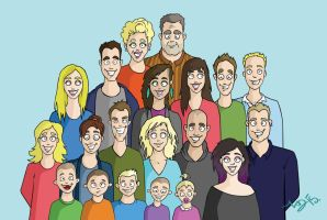 Family portret update by neraksel