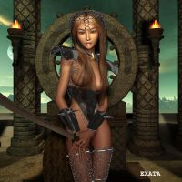 Guardian of Time by exata