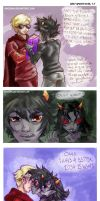Homestuck - DaveTereKat by askerian