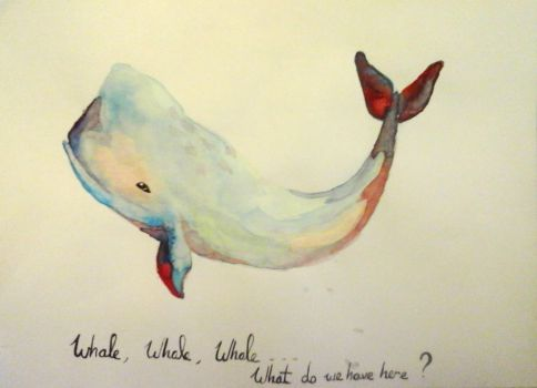 Whale, whale, whale...what do we have here? by Ellysendre