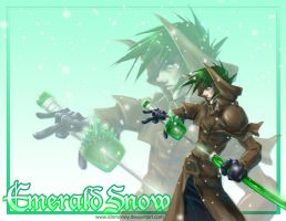 ...Emerald Snow... by dinmoney