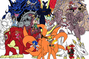 Jinchuuriki and Tailed Beasts by Tails19950