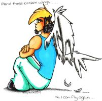 Mend These Broken Wings by Hades-O-Bannon