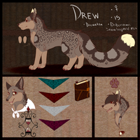 Drewetta Reference 2014 by Celestial-Chronicler