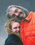 Double Portrait of Ant and May by NewAgeTraveller