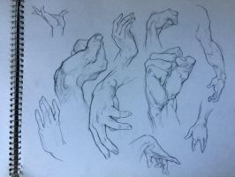 Hand Drawing Practice  by markcrilley