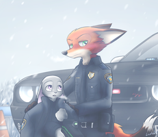 In Tundra town highway by oLEEDUEOLo