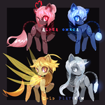 Auctioning Adopts: Pony Robot Squad {closed} by Ebony-Inke