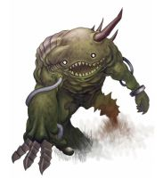 Swamp monster by Sotherby