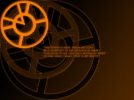 Orange Lantern Oath Wallpaper by stampedeofxflames