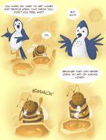The bird and the bee by lizzy1e