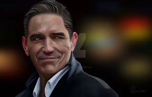Jim Caviezel as John Reese from Person of Interest by Nowhereman78