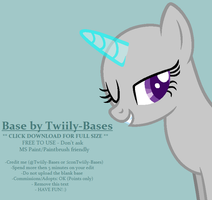 MLP Base 278 - Wink, wink~ by Twiily-Bases