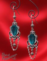 Imperial Art Nouveau Chandelier Earrings by ArtOfAdornment
