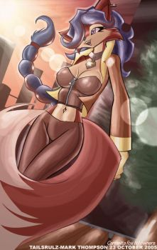 Carmelita Fox by tailsrulz