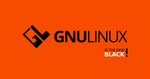 GNULinux is the New Black | Free 4K Wallpaper by Dablim