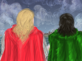 Post-Avengers Loki fanfic: Mother, I'm Here by SirLadySketch