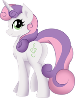Grown Up Sweetie Belle by AuburnBorbon