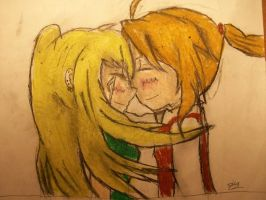 Ed X Winry Welcome Home by Tmntfan13