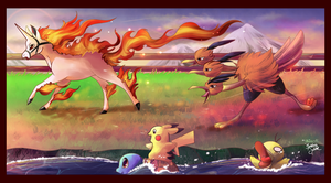 Collab: The Flame Pokemon-Athon