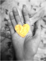 Heart biscuit.. by idielastyr