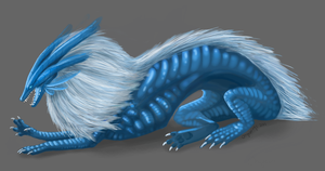 Blue Lion by Onyxwings