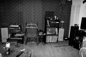 My Music listening quarters by pagan-live-style