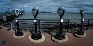 On Liberty Island by ClareDickerson