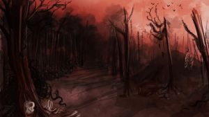 Blood Land by Ludmila-Cera-Foce