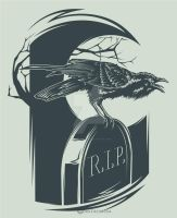 Tombstone Crow by Daver2002ua