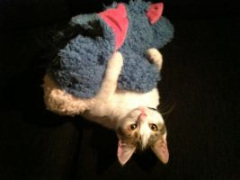 Lucy and Eeyore by JulieThatsMe