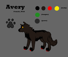 Avery- Ref. Sheet Commission by 490skip
