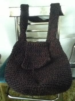 Strap view of bag pattern (too thick, Prototype) by Clix69