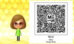 Discontinued Special Mii: Nikki From Swap Note by portal2player