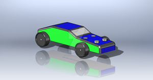 Solidworks - Pinewood Derby Car by Coasterfreak