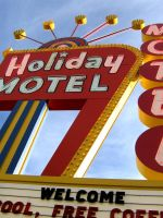 Holiday Motel by jvmediadesign