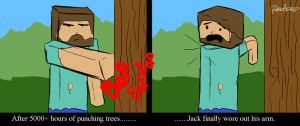 Jack the Minecrafter by F4celessArt