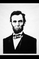 abraham lincoln by Lalana