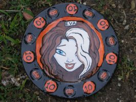 Zombie Girl Plate 10 Front by Gummibearboy
