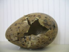 egg shell open by Its-Only-Stock