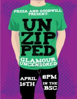 Unzipped Flyer by YouwithoutMe