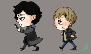 Sherlock and JAWN by TalyChan-Aru