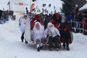 Horn Sledge Race 2013 41 - Devils and Angels by Icedragon300