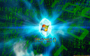 WINDOWS10: MATRIX SPACE by CSuk-1T