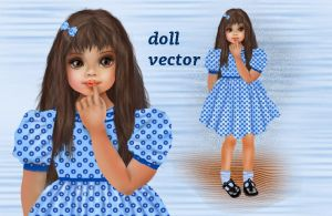 Vector Doll by roula33
