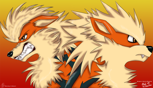.:Arcanine Style Difference:. by ShadownChaosforevr