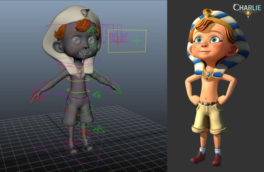 Charlie RIG by griffon3d
