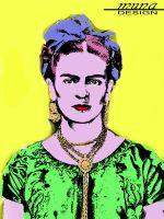 Kahlo Meets Warhol by MUNA02